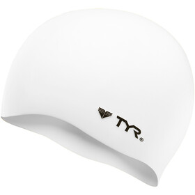 TYR Silicone Cap No Wrinkle white
